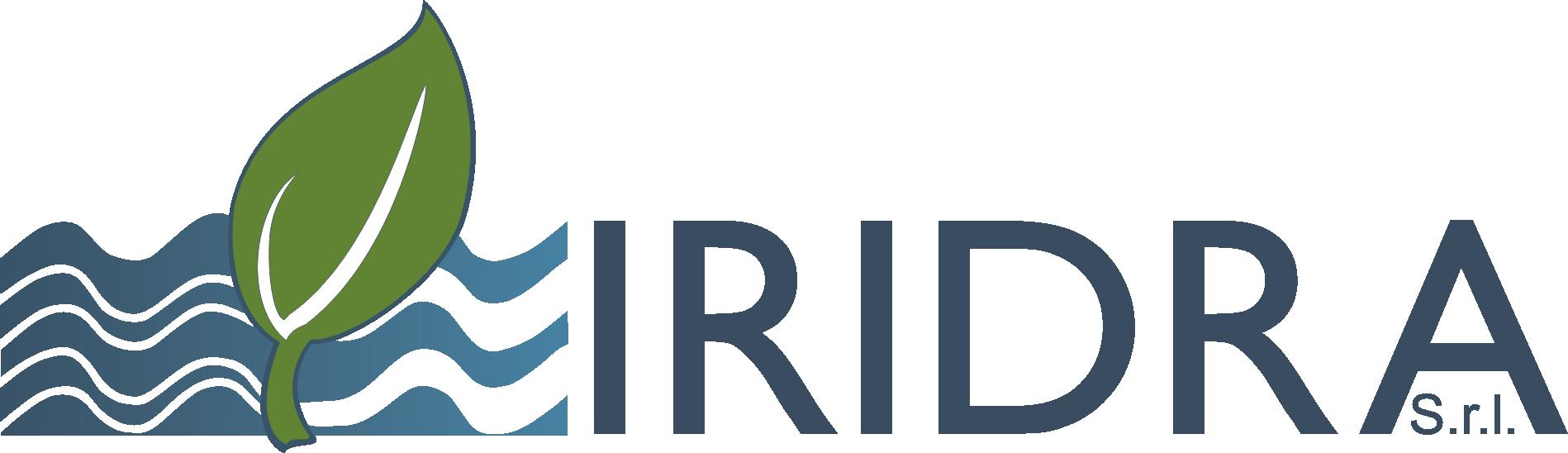 Logo iridra trasparente